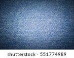 blue jeans texture | Shutterstock . vector #551774989