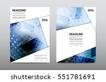 brochure layout template flyer... | Shutterstock .eps vector #551781691