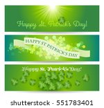 happy st. patricks's day... | Shutterstock .eps vector #551783401