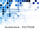 blue medical science technology ... | Shutterstock . vector #55179328