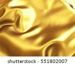 Golden Satin Wavy Texture...
