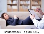 medical concept with... | Shutterstock . vector #551817217