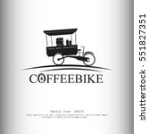 coffeebike vector icon | Shutterstock .eps vector #551827351