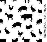 vector illustration seamless... | Shutterstock .eps vector #551828995