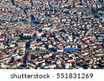 aerial view of the istambul ... | Shutterstock . vector #551831269