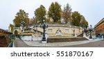 scalinata del pincio in parco... | Shutterstock . vector #551870167