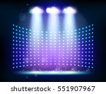 scene illumination show  bright ... | Shutterstock . vector #551907967
