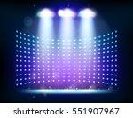 scene illumination show  bright ...   Shutterstock . vector #551907967