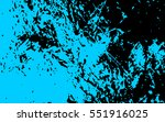 blue paint. turquoise stain....   Shutterstock .eps vector #551916025