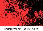 red paint. blood stain. grunge...   Shutterstock .eps vector #551916175
