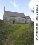 Small Welsh Chapel Church On A...
