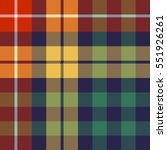 colored check seamless fabric... | Shutterstock .eps vector #551926261