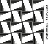 the geometric pattern by... | Shutterstock .eps vector #551929855