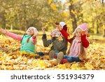 Group Of Happy Children Restin...