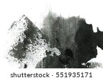 abstract ink background. marble ... | Shutterstock . vector #551935171