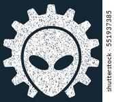 alien technology grainy...   Shutterstock .eps vector #551937385