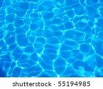 Light Blue Water Ripple...