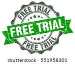 free trial. stamp. sticker....