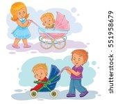 set clip art illustrations... | Shutterstock .eps vector #551958679