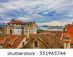 Split  Croatia. Cruise Liner In ...