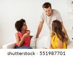 friendship  communication and... | Shutterstock . vector #551987701