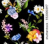 seamless background pattern of... | Shutterstock .eps vector #552000397