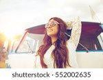 summer holidays  road trip ... | Shutterstock . vector #552002635