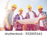 business  building  teamwork... | Shutterstock . vector #552005161