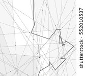 monochrome minimalistic vector... | Shutterstock .eps vector #552010537