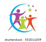 adoption and community care...   Shutterstock .eps vector #552011059