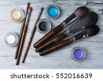 collection of make up products  ... | Shutterstock . vector #552016639