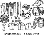 back to school  sketch | Shutterstock .eps vector #552016945