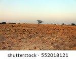 barren land of a east heisphere | Shutterstock . vector #552018121