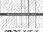 collection of geometric... | Shutterstock .eps vector #552024859
