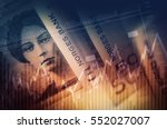 Norwegian Krone Forex Concept. Norway Currency Business Concept. - stock photo