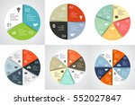 vector circle arrows... | Shutterstock .eps vector #552027847