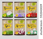 set of colorful labels  sketch... | Shutterstock .eps vector #552043039