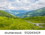 view of the alps along the...