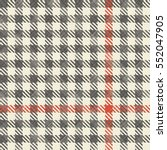 checkered seamless pattern on... | Shutterstock .eps vector #552047905