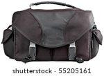 black camera accessory storage... | Shutterstock . vector #55205161