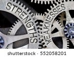 macro photo of tooth wheel... | Shutterstock . vector #552058201