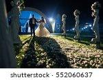 The Brides Walking Near Figures ...