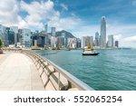 hong kong harbour | Shutterstock . vector #552065254