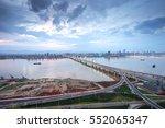 nanchang  jiangxi river views | Shutterstock . vector #552065347