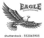 eagle vector illustration ... | Shutterstock .eps vector #552065905