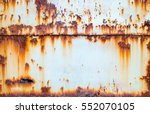 rust on old wall background | Shutterstock . vector #552070105
