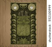 vector vintage items  label art ...   Shutterstock .eps vector #552100999