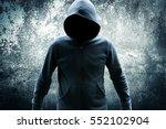 killer wearing hoodies movies... | Shutterstock . vector #552102904