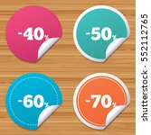 round stickers or website... | Shutterstock .eps vector #552112765