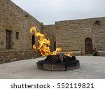 ateshgah fire temple.... | Shutterstock . vector #552119821